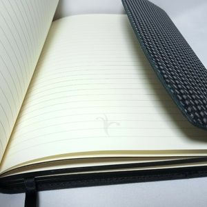 Moleskine Office - Moleskine Black Clutch Journal Made in Italy